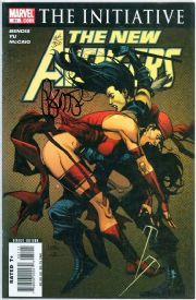 New Avengers #31 Dynamic Forces Signed Brian Michael Bendis DF COA Ltd 350 Secret Invasion Marvel comic book